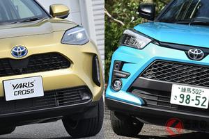 人気絶頂のトヨタ「ライズ」 新型「ヤリスクロス」登場で販売面に変化あり?