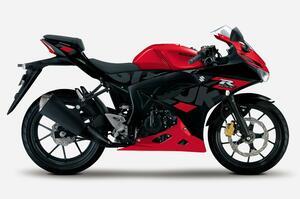【新車】最強最速の原付二種バイク/125ccスーパースポーツのスズキ『GSX-R125』が凝ったカラーリングで高級感アップ! 価格と発売日は?