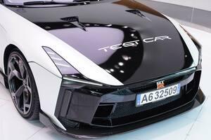 超希少!「GT-R50 by イタルデザイン」のリアルテストカーが銀座に展示される