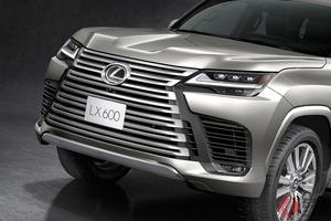 迫力グリルが凄い! レクサス最高級SUV新型「LX」を世界初公開! オン・オフ最強SUVの特徴とは