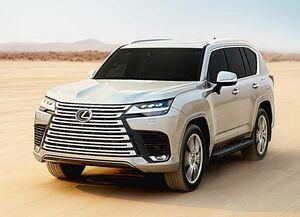 トヨタ、レクサスの新型「LX」 中東で世界初披露 日本では2022年初頭発売