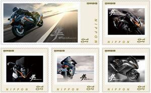 【数量限定】新型『隼(ハヤブサ)』に進化したフレーム切手の2021年Verが発売! ネットで買えるし、激レアのステッカーもついてくるぞ!【スズキのバイク! の耳寄りニュース/SUZUKI HAYABUSA】