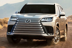 レクサスLX刷新 未来感高まったデカ顔SUV 悪路走行性にデジタルの力