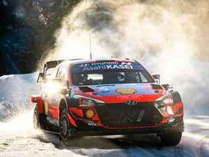 WRC第2戦、雪のアークティック・フィンランド、ヒュンダイのタナックがトヨタ勢を圧倒【モータースポーツ】