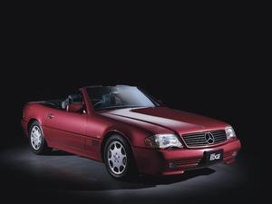 【名車への道】'95 メルセデス・ベンツ SL500