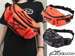 スポーティーなデザインが魅力!アルパインスターズの「KANGA v2 WAIST BAG」に新色追加!
