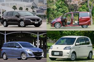 たった50万円で「車中泊」向けのクルマが手に入る! アウトドア初心者が選ぶべき5台とは