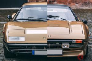 金運アップ間違いなしのゴールド・フェラーリは高値安定! 金色「308GTS」と「BB」の価格は?
