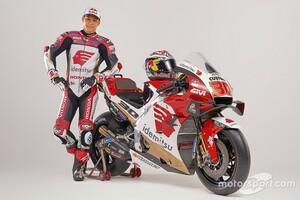 【MotoGP】中上貴晶、2021年を戦う新マシンのカラーが公開。昨年は日本人16年ぶりPPも獲得
