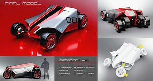三菱自動車、専門学校HALとのカーデザインプロジェクト グランプリを発表