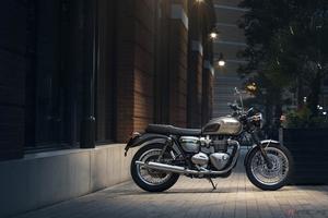 トライアンフ「Gold Line Edition」発売 ボンネビルT100やストリートスクランブラーなど7機種で展開