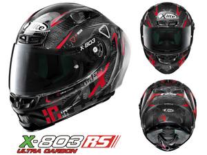 NOLAN の軽量ハイスペックカーボンヘルメット「X-lite X-803RS ULTRA CARBON」の新グラフィックモデルがデイトナから登場