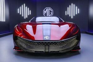 名門MGからEVスポーツ「MG サイバースター」が新登場。注目はゲーミング・コクピット