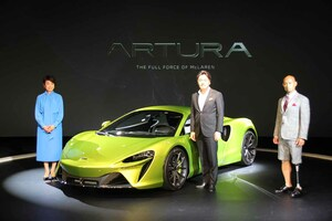 マクラーレン、初のシリーズ生産ハイパフォーマンス・ハイブリッドスーパーカー「アルトゥーラ」を国内初披露!