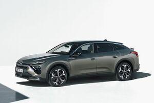 第3世代の新型シトロエンC5がサルーンとステーションワゴン、SUVを高度に融合させたクロスオーバーモデル「C5 X」として復活
