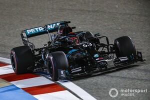 F1サクヒールFP2:FP1に続きまたもラッセルがトップタイム。レッドブル・ホンダのフェルスタッペンが続く