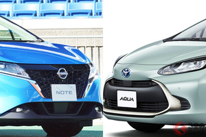 トヨタ新型「アクア」発売! 同じ日本向けHVの日産「ノート」にどう対抗? 世界初採用電池の効果は?