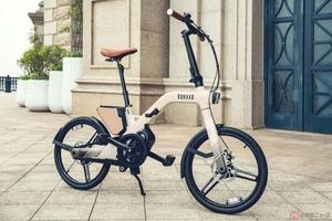 シームレスフレームはマグネシウム合金! スタイリッシュな折りたたみ電動アシスト自転車 KOHAKU「IQ600」登場