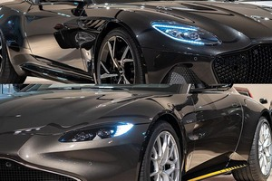 日本で唯一の2台セット買いオーナー車発見! アストンマーティンの映画『007』記念限定車とは?