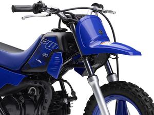 【ヤマハ】YZ シリーズと同じグラフィックを採用! キッズ向けファンバイク「PW 50」2022年モデルを10/28発売