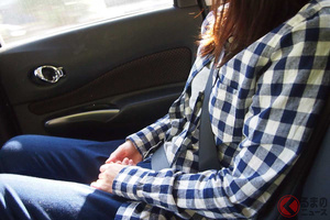 一般道で後席シートベルト非着用は約6割!? 罰則がなくても必ず着用すべき理由