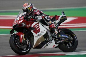 中上貴晶「多くの新パーツをテスト。バイクのフィーリングはかなり良かった」/MotoGPカタルーニャ公式テスト
