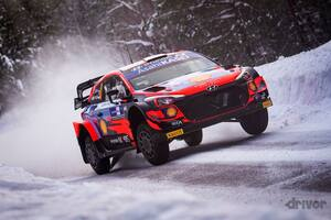 【WRC 2021 第2戦】初開催の北極圏でのスノーラリーでヒョンデのタナックがリード【アークティック・ラリー・フィンランド Day1】