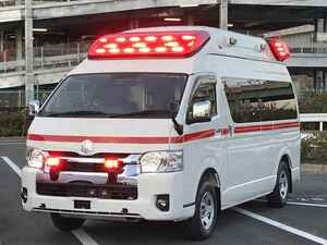 【はたらくクルマ】トヨタの「ハイメディック」は、進化を続ける高機能救急車