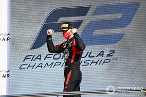 """ハースF1加入のニキータ・マゼピン、契約は""""複数年""""「F2で見せた力を今後も示し続けたい」"""