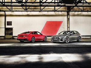 アウディジャパン、高性能モデル「RS6アバント」「RS7スポーツバック」追加