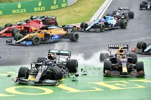 多重クラッシュ原因のバルテリ・ボッタス、次戦5グリッド降格ペナルティ「回避可能な衝突を引き起こした」|F1ハンガリーGP