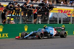 F1ハンガリーGP決勝:アルピーヌのオコンが大波乱のレースを制しF1初優勝! アルファタウリ角田も2戦連続の入賞