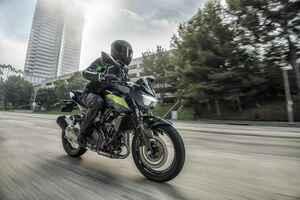 カワサキが「Z250」の2022年モデルを発表! スーパーネイキッド・Zシリーズの250ccモデルが新色に