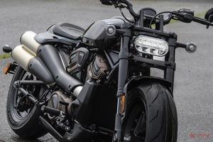 【詳細解説 実車足着きも!】ハーレー「水冷DOHCの新スポーツスター」 価格は185万8000円~で9月以降納車予定