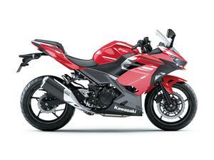 カワサキが「Ninja250」の2022年モデルを発表! 250ccフルカウルスポーツのロングセラーモデルが新色に、カラーは2色の設定