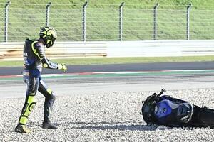 【MotoGP】ロッシ、セットアップ変更が奏功せずポルトガルGP初日21番手「バイクのバランスを崩してしまった」