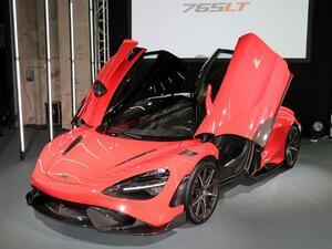 【ニューモデル写真蔵】マクラーレン スーパーシリーズの最高峰「765LT」は軽量化をトコトン追求した限定モデル