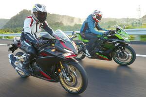 「CBR250RR」と「Ninja ZX-25R」の街乗り&ツーリング性能を比較!【2気筒 VS 4気筒 250ccスーパースポーツ対決】