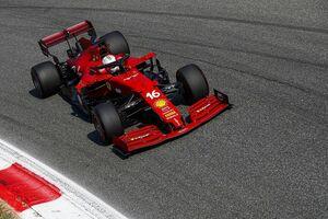 フェラーリ、ロシアGPでパワーアップの新型PUを投入。先行搭載のルクレールはグリッド降格ペナルティ