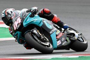 【レースフォーカス】10カ月ぶりのレースでドヴィツィオーゾがヤマハYZR-M1に感じた印象とは/MotoGP第14戦サンマリノGP