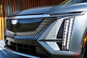 全長5mのSUV型EV キャデラック「リリック」デビューエディション予約開始! わずか10分で完売