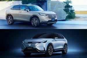 【新型ヴェゼルそっくり】上海ショーにEV試作車 未来のヴェゼルに?