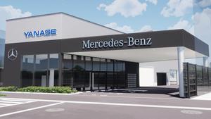 【リニューアル】メルセデス・ベンツ洛北支店サービスセンターが移転・新築オープン【ヤナセ】