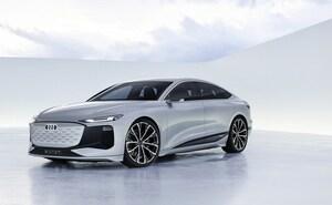 アウディが発表したe-tronの新顔「A6 e-tron コンセプト」は0-100加速4秒切りのスポーツ性能