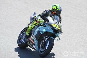 【MotoGP】転倒リタイアでもバレンティーノ・ロッシ、前向き。「ペースは悪くなかった。自信が持てる」|ポルトガルGP