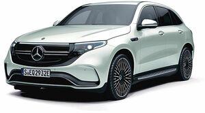メルセデス・ベンツ日本、EV「EQC」の標準装備を一部見直しで185万円値下げ