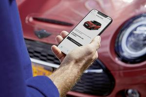 MINI クルマとスマートフォンが繋がるアプリ「MINI App」を導入