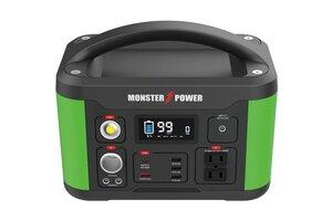 キャンプや車中泊のほか災害時にも使える!501Whの大容量ポータブル電源「モンスターパワー」を発売|阿部商会 MARVELLOUS|