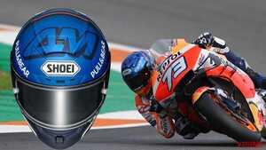 2020シーズン後半に覚醒したアレックス・マルケスのレプリカヘルメット「AM73」登場