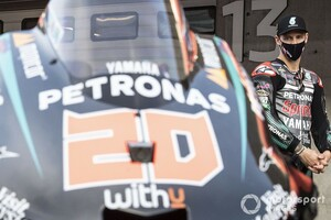 """【MotoGP】ファビオ・クアルタラロ「バイクより""""自分の改善""""が必要」来季に繋がる好レースできるか?"""